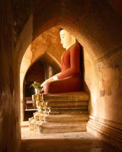 Buddha in Archway