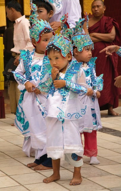Young Boys in Costume